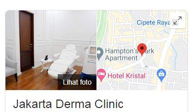 Daftar Cabang Alamat Jakarta Derma Clinic