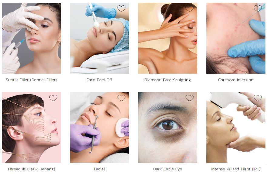Jenis Perawatan di The Clinic Beautylosophy
