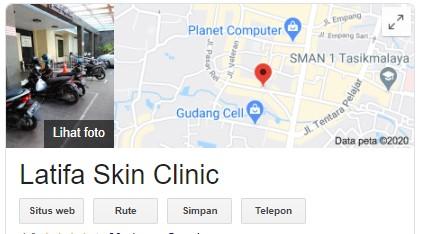 Lokasi Perawatan Latifa Skin Care