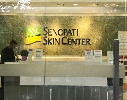 Perawatan di SSC (senopati skincare Center)