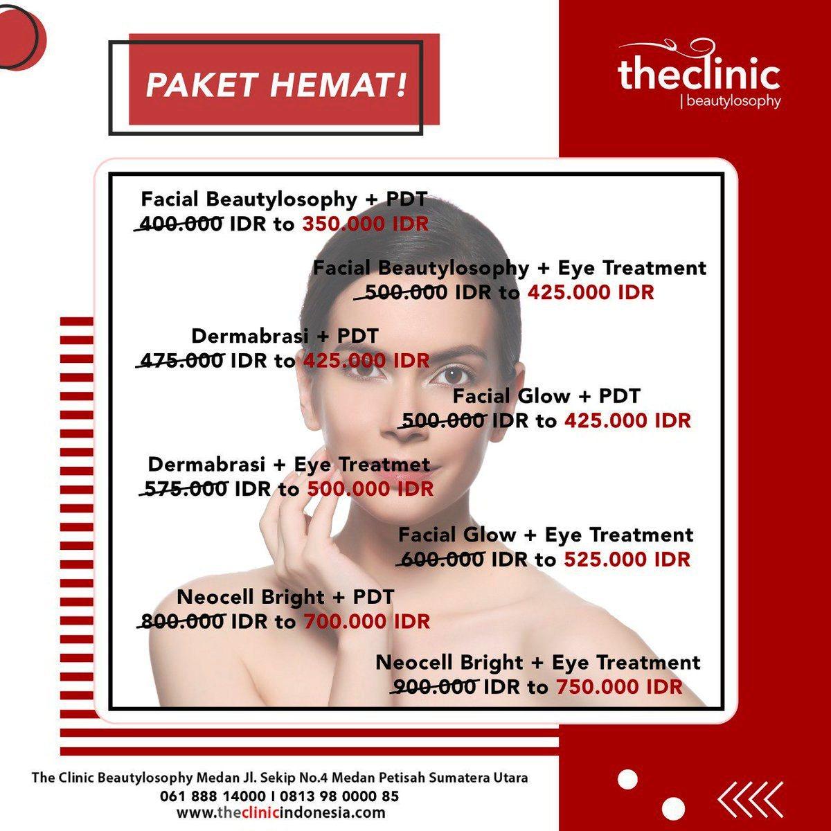 Promo Biaya Perawatan di The Clinic Beautylosophy