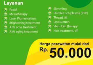 Harga Perawatan di Ergia Klinik